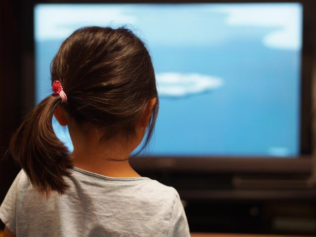 テレビやテレビゲームの時間が少ない子ども